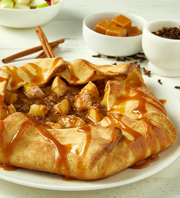 Salty Caramel Apple Pie